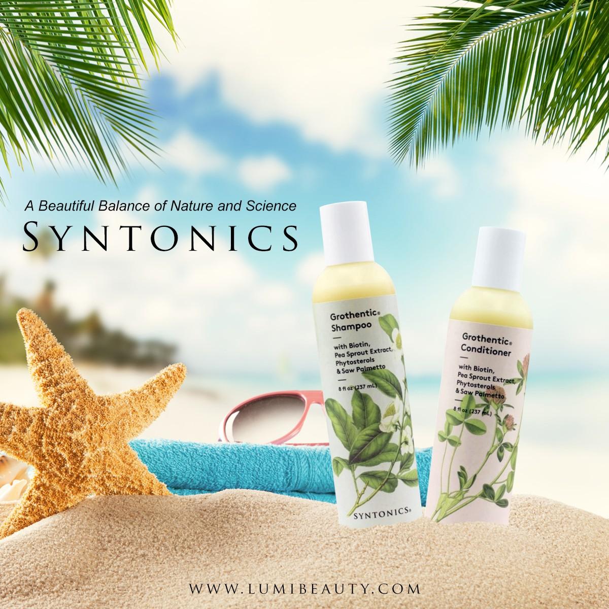visuel pour lumibeauty produits syntonics